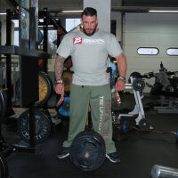 "Brachial Sporthose ""Gym"" khaki M"