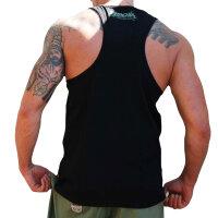 """Brachial Tank-Top """"Rage"""" black XL"""