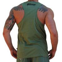 """Brachial Tank-Top """"Rage"""" khaki XL"""