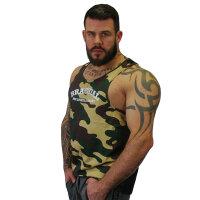 "Brachial Tank-Top ""Since"" camo/schwarz 4XL"