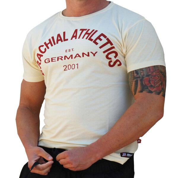"""Brachial T-Shirt """"Trademark"""" elfenbein S"""
