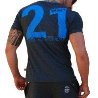 "Brachial T-Shirt ""Trademark"" grau L"