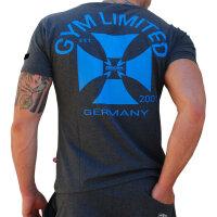 """Brachial T-Shirt """"Limited"""" grau M"""