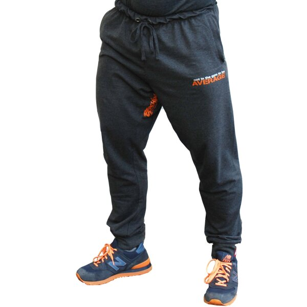 "Brachial Jogging Pants ""NotAverage"" darkgreymelonge 2XL"