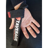 "Brachial Lifting Straps ""Strong"" black/red"