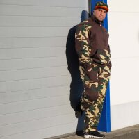 "Brachial Zip-Sweater ""Fuel"" camo L"