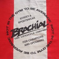 "Brachial Tank-Top ""Squat"" red/grey S"
