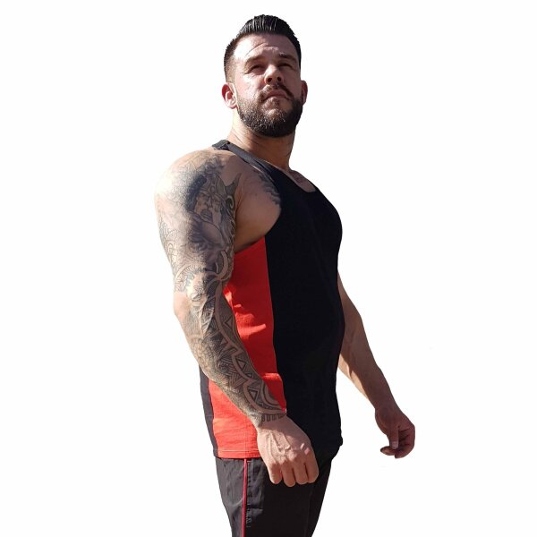 Brachial Tank-Top Squat black/red