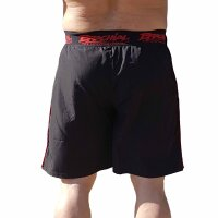 "Brachial Short ""Airy"" black/red L"