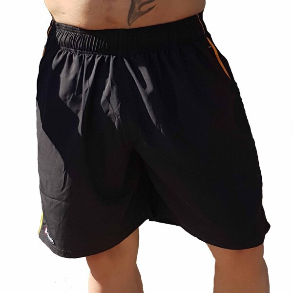 Brachial Short Airy black/orange