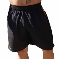 "Brachial Short ""Airy"" black/orange"