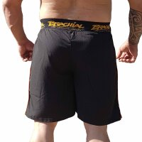 "Brachial Short ""Airy"" black/orange S"