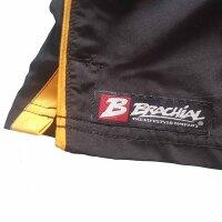 "Brachial Short ""Airy"" black/orange M"