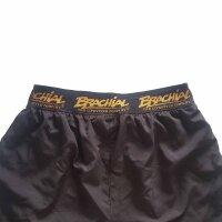 "Brachial Short ""Airy"" black/orange L"
