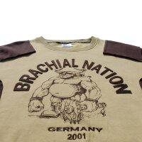 "Brachial Sweatshirt ""Viking"" beige M"