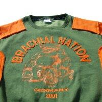 "Brachial Sweatshirt ""Viking"" grün L"