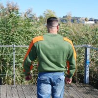 "Brachial Sweatshirt ""Viking"" grün XL"