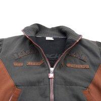 "Brachial Zip-Sweater ""Original"" anthracite"