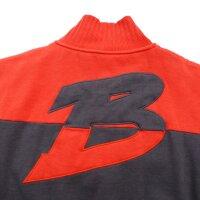 "Brachial Zip-Sweater ""Original"" red S"