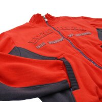 "Brachial Zip-Sweater ""Original"" rot M"