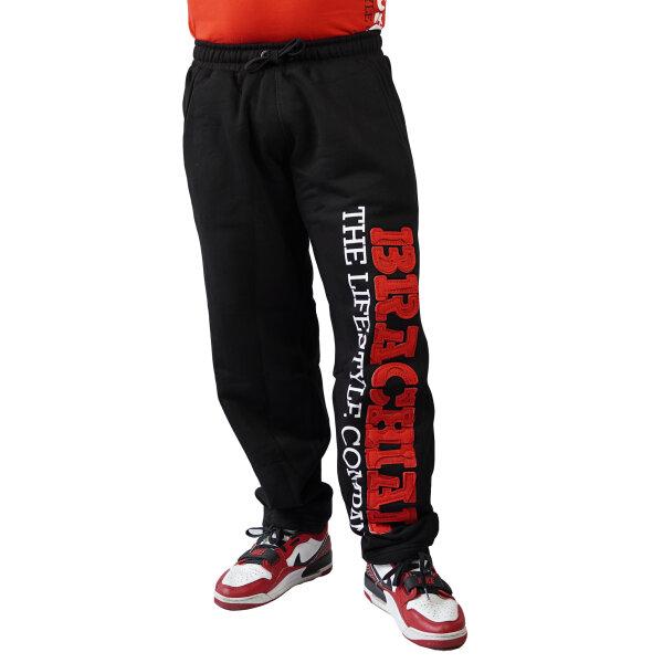 """Brachial Sporthose """"Gym"""" schwarz/rot"""