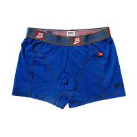 """Brachial 2er Pack Boxer Shorts """"Under"""" blau & schwarz"""
