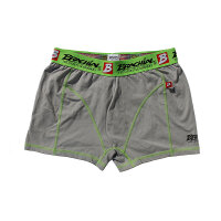 "Brachial 2er Pack Boxer Shorts ""Under"" orange & grey"
