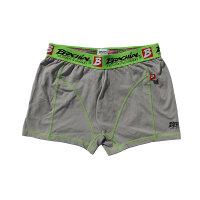 "Brachial 2er Pack Boxer Shorts ""Under"" orange & grau S"