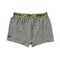 "Brachial 2er Pack Boxer Shorts ""Under"" orange & grau XL"