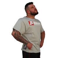 "Brachial T-Shirt ""Sign Next"" grau"