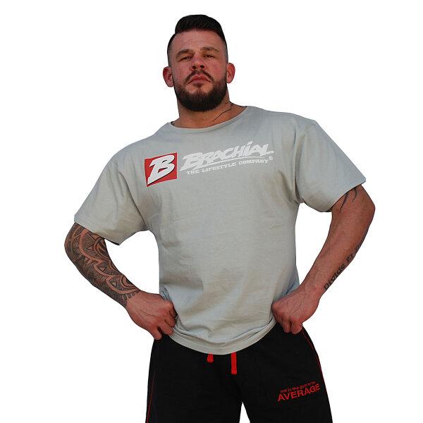 "Brachial T-Shirt ""Sign Next"" grau S"