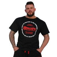 """Brachial T-Shirt """"Style"""" schwarz L"""