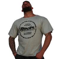"""Brachial T-Shirt """"Style"""" grau L"""