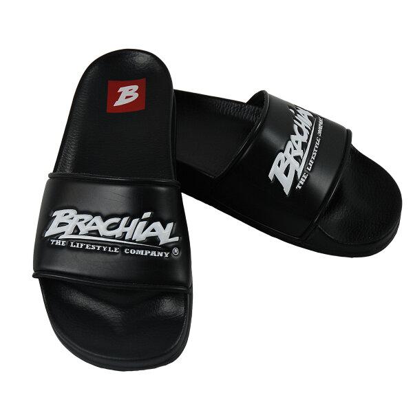 """Brachial Bath Shoes """"Slide"""" black"""