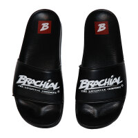 "Brachial Badeschuhe ""Slide"" schwarz 44"