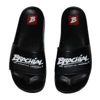 "Brachial Badeschuhe ""Slide"" schwarz 45"