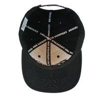 "Brachial Snapback Cap ""Rule"" schwarz"