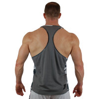 "Brachial Tank-Top ""Chest"" grey"