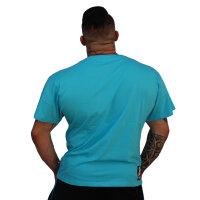 """Brachial T-Shirt """"Sign Next"""" light blue M"""