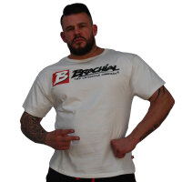 "Brachial T-Shirt ""Sign Next"" weiss"