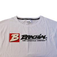 """Brachial T-Shirt """"Sign Next"""" weiss S"""