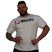 """Brachial T-Shirt """"Sign Next"""" weiss XL"""