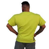 """Brachial T-Shirt """"Sign Next"""" green S"""