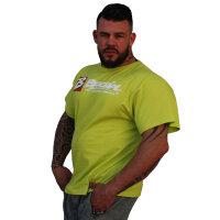 """Brachial T-Shirt """"Sign Next"""" green 4XL"""