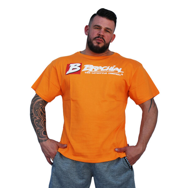Brachial Camisetas Sign Next naranja