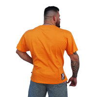 "Brachial T-Shirt ""Sign Next"" orange"