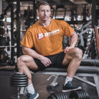 "Brachial T-Shirt ""Sign Next"" orange"