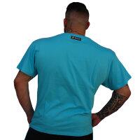 "Brachial T-Shirt ""Style"" light blue"