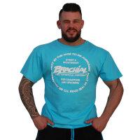 "Brachial T-Shirt ""Style"" light blue S"