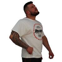 """Brachial T-Shirt """"Style"""" white S"""